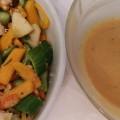 סלט ירקות מפתיע! עם עוף וחזה אווז